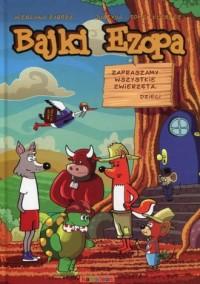 Bajki Ezopa - okładka książki