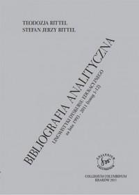 Bibliografia analityczna Lingwistyki Dyskursu Edukacujnego za lata 1993-2011 - okładka książki