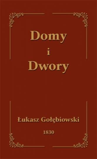 Domy i Dwory - okładka książki