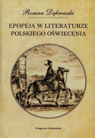 Epopeja w literaturze polskiego - okładka książki