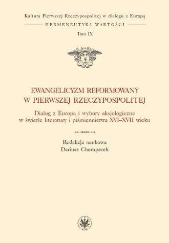 Ewangelicyzm reformowany w Pierwszej - okładka książki