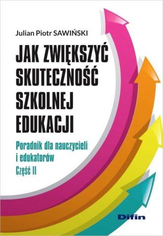 Jak zwiększyć skuteczność szkolnej - okładka książki