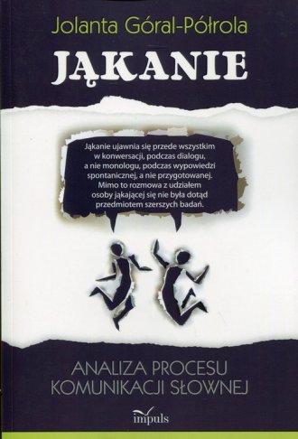 Jąkanie. Analiza procesu komunikacji - okładka książki