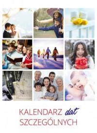 Kalendarz dat szczególnych - okładka książki