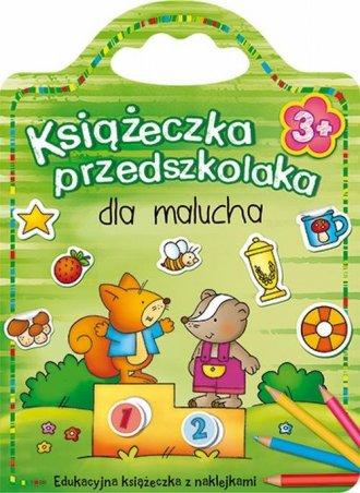 Książeczka przedszkolaka dla malucha - okładka książki