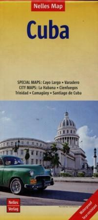 Kuba mapa samochodowa (skala 1:775 000) - okładka książki