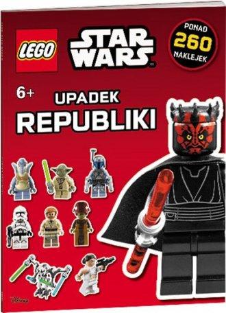 Lego Star Wars. Upadek Republiki - okładka książki