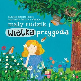 Mały rudzik i wielka przygoda - okładka książki