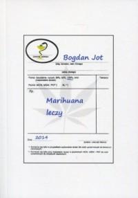 Marihuana leczy - okładka książki
