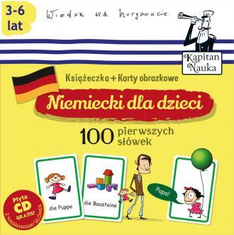 Niemiecki dla dzieci. 100 pierwszych - okładka podręcznika