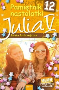 Pamiętnik nastolatki 12. Julia - okładka książki