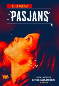 Pasjans - okładka książki