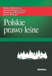 Polskie prawo leśne - okładka książki