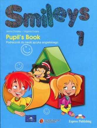 Smileys 1 Podręcznik + eBook - okładka podręcznika