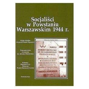 Socjaliści w Powstaniu Warszawskim - okładka książki