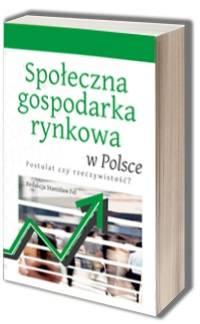 Społeczna gospodarka rynkowa w - okładka książki