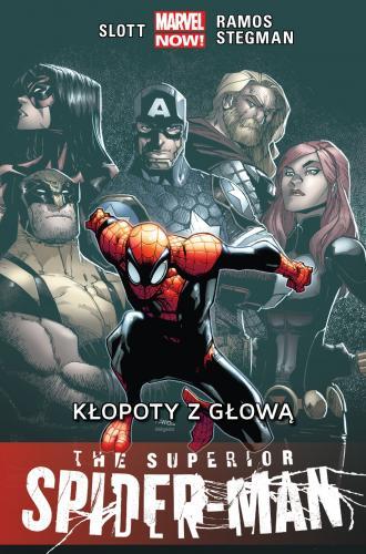 The Superior. Spider-Man. Kłopoty - okładka książki