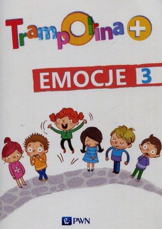 Trampolina + Emocje 3 - okładka podręcznika