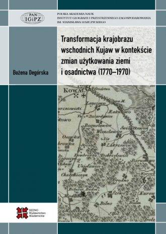Transformacja krajobrazu wschodnich - okładka książki