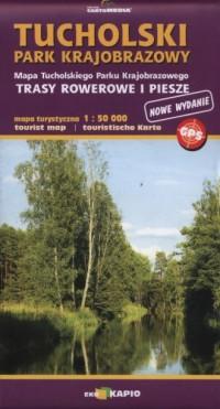 Tucholski Park Krajobrazowy. Mapa turystyczna (skala 1:50 000) - okładka książki
