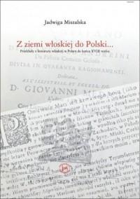 Z ziemi włoskiej do Polski - okładka książki