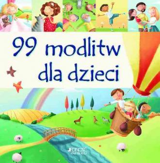 99 modlitw dla dzieci - okładka książki