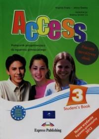 Access 3 set. Students Book. Gimnazjum - okładka podręcznika