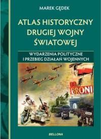 Atlas historyczny drugiej wojny - okładka książki