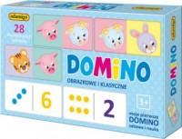 Domino obrazkowe i klasyczne - zdjęcie zabawki, gry