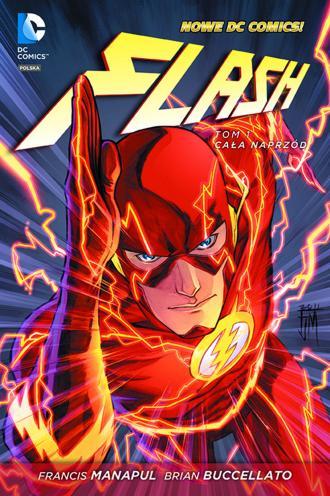 Flash. Tom 1. Cała naprzód - okładka książki