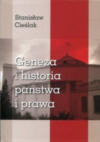 Geneza i historia państwa i prawa - okładka książki
