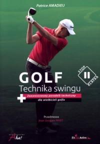 Golf. Technika swingu - okładka książki