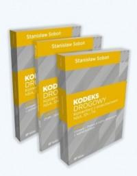 Kodeks Drogowy Komentarz z orzecznictwem NSA, SN i TK cz. 1-3. PAKIET - okładka książki