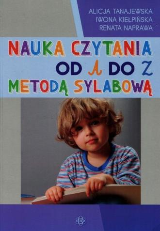 Nauka czytania od A do Z metodą - okładka podręcznika