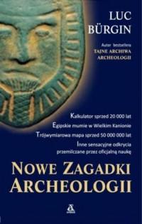 Nowe zagadki archeologii - okładka książki