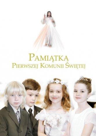 Pamiątka Pierwszej Komunii Świętej. - okładka książki
