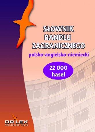 Polsko-angielsko-niemiecki słownik - okładka podręcznika
