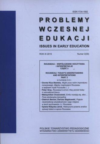 Problemy wczesnej edukacji  3/2015 - okładka książki