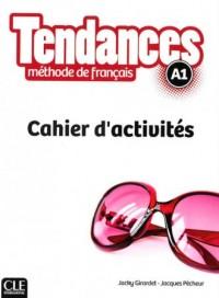 Tendances A1. Ćwiczenia - okładka podręcznika