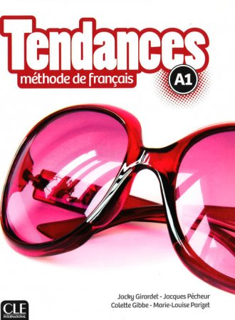 Tendances A1. Podręcznik (+ CD) - okładka podręcznika