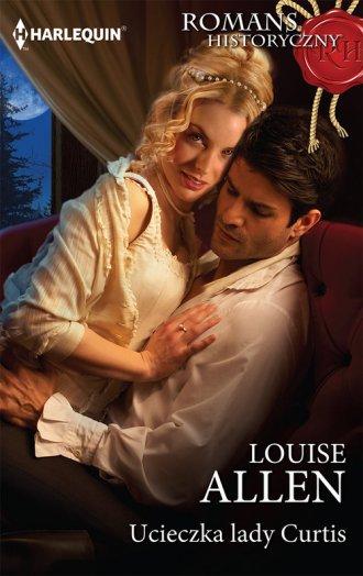 Ucieczka lady Curtis - okładka książki