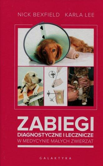 Zabiegi diagnostyczne i lecznicze - okładka książki
