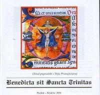 Benedicta sit Sancta Trinitas (CD) - okładka płyty