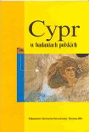 Cypr w badaniach polskich. Materiały - okładka książki
