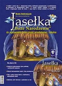 Jasełka. Boże Narodzenie (+ CD) - okładka książki