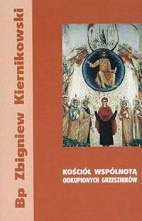 Kościół wspólnotą odkupionych grzeszników - okładka książki
