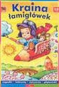 Kraina łamigłówek (5-8 lat) - okładka książki