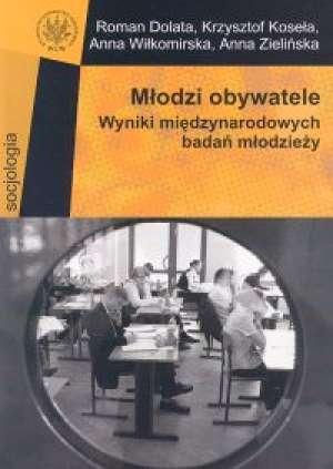 Młodzi obywatele. Wyniki międzynarodowych - okładka książki