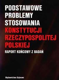 Podstawowe problemy stosowania - okładka książki