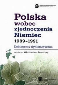 Polska wobec zjednoczenia Niemiec - okładka książki